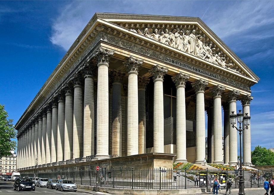 マドレーヌ寺院|パリのセーヌ河岸