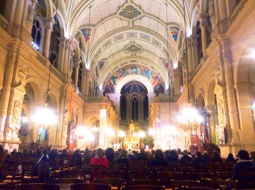 マドレーヌ教会年末ミサ